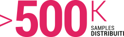 Samples distribuiti 500KContatti diretti tot 2 Milioni