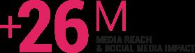 26M SOCIAL MEDIA IMPACT